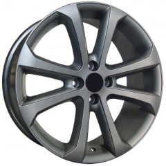 Roda Aro 14 - Replica Original VW Gol Power e Voyage 2011 Grafite Diamantado