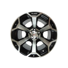 Roda Aro 15 - AS Wheels Alado Furação 5x139 (Jeep Wyllis, F1000, Rural) Tala 10""
