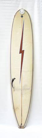 "Prancha de Surf Longboard Usada 9'0"" Branca Aerofish"