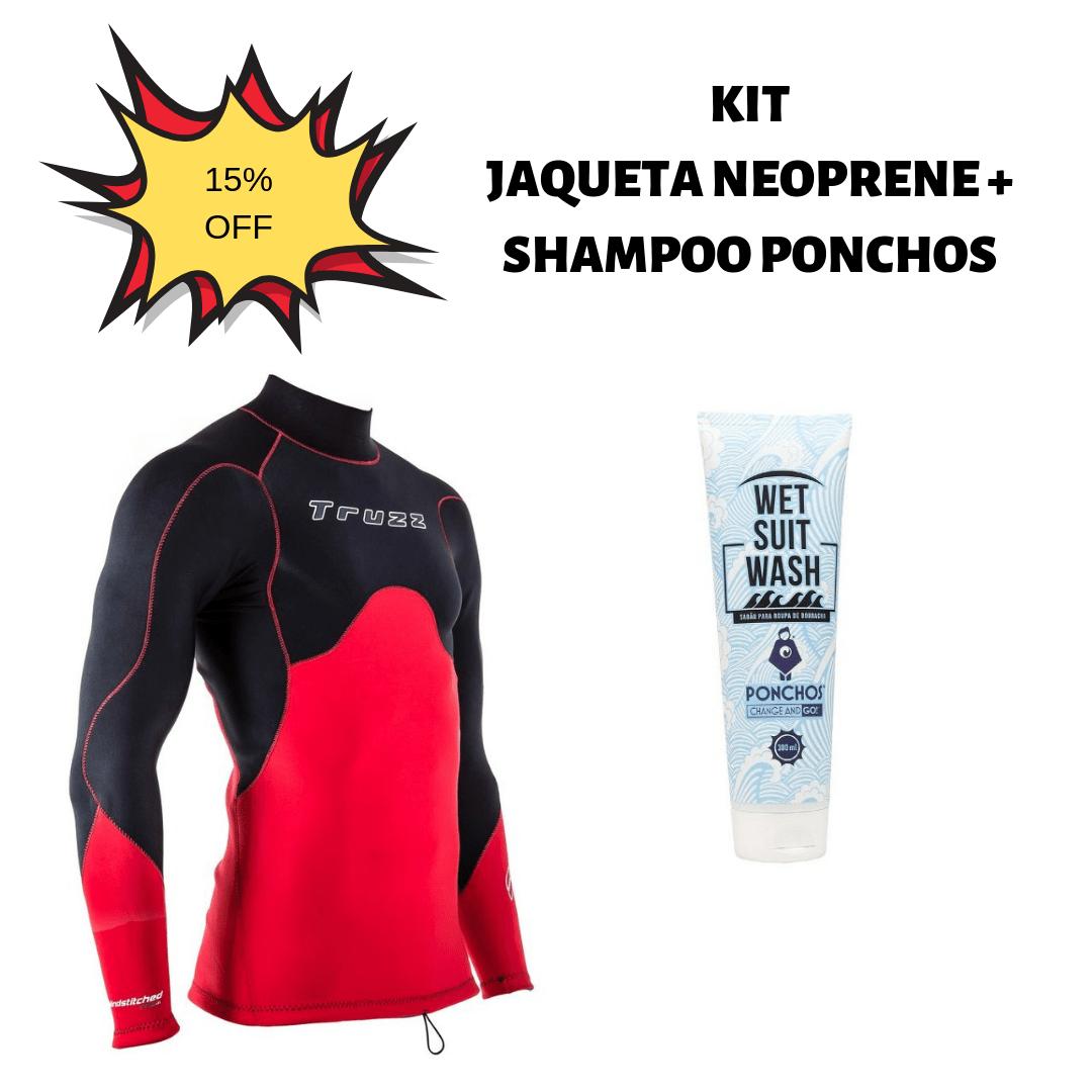 Kit Jaqueta Neoprene + Shampoo Ponchos