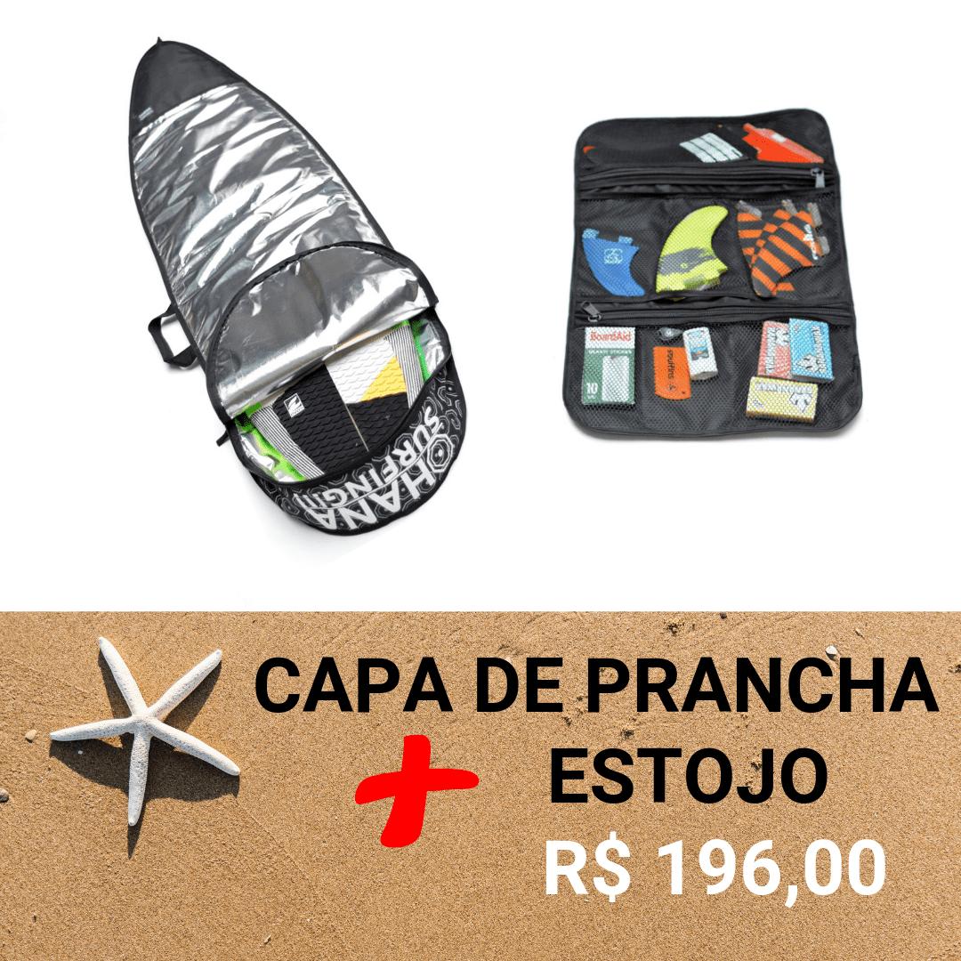 Kit Capa de Prancha e Porta Quilha Surf