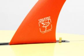 Quilha Surf Longboard Fibra 9'5 Tri Fins