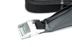 Kit Porta Quilhas + Fita Rack + Leash Surf