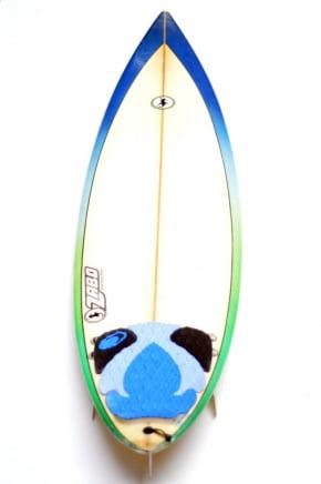 Prancha de Surf Usada 6'8 Zabo Surfboards