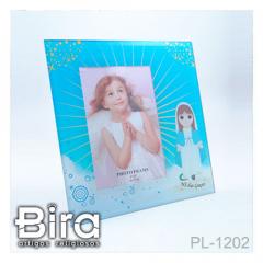 Porta Retrato de Vidro N. Sra. das Graças Infantil - 21x21cm - Cód. PL-1202