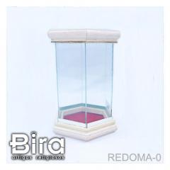 Redoma de Vidro Para Imagem de Até 12cm - Cód. REDOMA-0