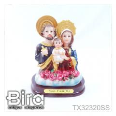Busto Sagrada Família - 8cm - Cód. TX32320SS
