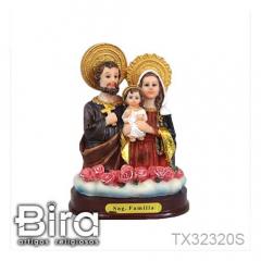 Busto Sagrada Família - 12cm - Cód. TX32320S