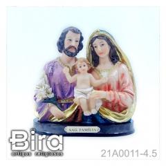 Busto Sagrada Família - 11cm - Cód. 21A0011-4.5