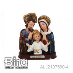 Busto Sagrada Família - 11cm - Cód. ALJ2107590-4