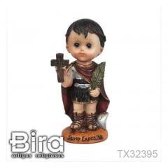 Santo Expedito Infantil - 15cm - Cód. TX32395
