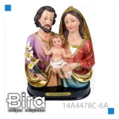 Busto Sagrada Família - 15,2cm - Cód. 14A4478C-6A