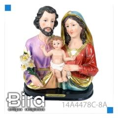 Busto Sagrada Família - 20,3cm - Cód.14A4478C-8A
