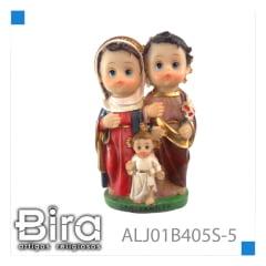 SAGRADA FAMILIA INFANTIL DE 12,7 CM - CÓD. ALJ01B405S-5