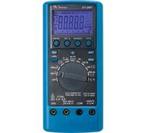 Mutímetro Digital 4.5/6dig./CAT IV/TrueRMS AC+DC/Condutância/cap./res./freq./Duty Cicle/HPF/USB ET-2587 MINIPA