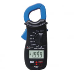 Alicate Amperímetro Digital 3.1/2 dig. CAT II Corrente 200A Res. Data Hold ET-3100 MINIPA