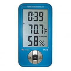 Relógio Termo-Higrômetro Int./Ext. MT-240 MINIPA