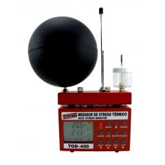 Medidor de Stress Térmico Com Anemômetro TGD-400 Instrutherm Com Certificado de Calibração