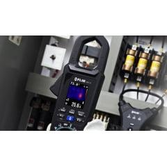Alicate Amperímetro 600A AC/DC Com Imagem Termográfica FLIR CM174