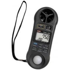 Termo-Higro-Anemômetro-Luxímetro Digital THAL-300 Instrutherm