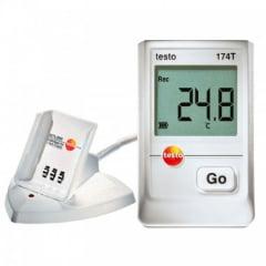 TESTO 174T Kit Datalogger p/Medição de Temperatura com Interface de Comunicação USB