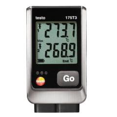 TESTO 175-T3  Datalogger p/Medição de Temperatura