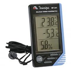 Relógio Termo-Higrômetro Digital Int/Ext MT-241 MINIPA