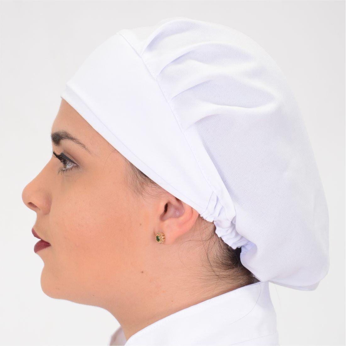 Touca Feminina Branco