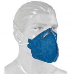 Máscara respiratória descartável C/ ou sem válvula