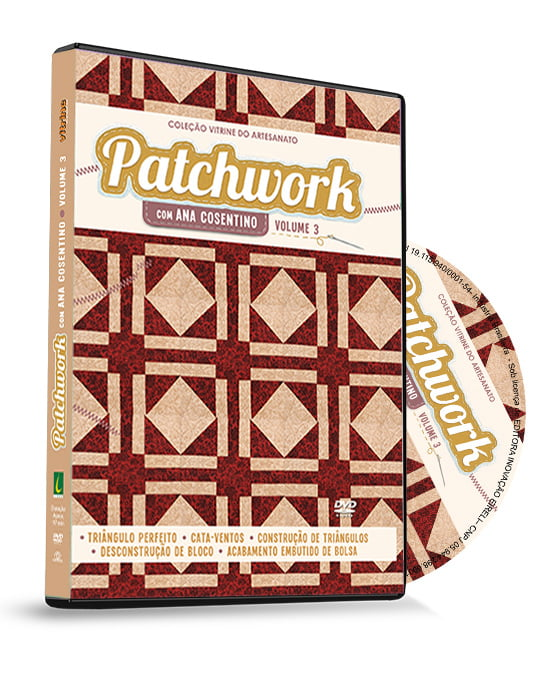 Dvd Patchwork Ana Cosentino Volume 3