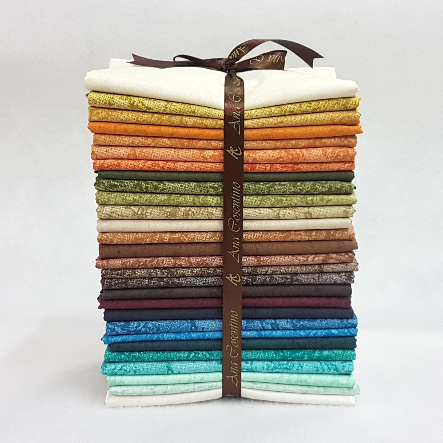 Kit Tecidos Alecrim - Três Coleções (Outonal/Caribe/Country)