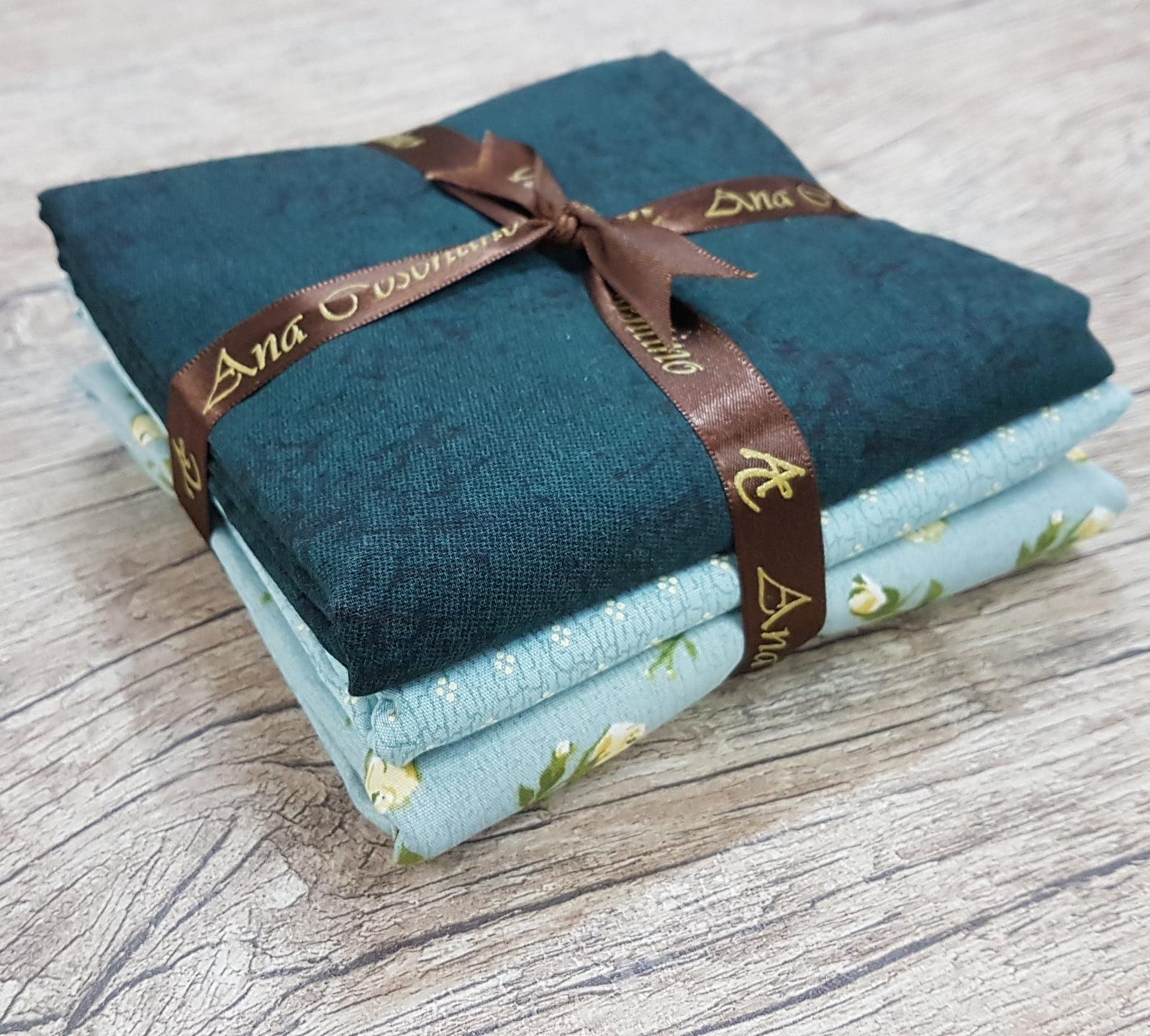 Kit Tecidos Paris Azul - 03