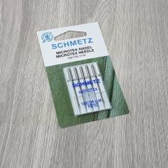 Agulha Schmetz - Para Seda Microtex (70/10)