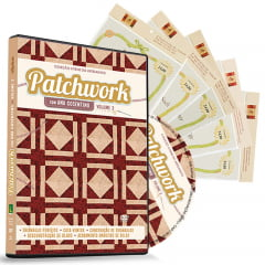 Combo DVD Patchwork Ana Cosentino Volume 3 com Projetos