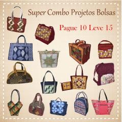 Super Combo Projetos de Bolsas (pague 10 e leve 15)