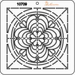 Estêncil de Quilting Diretrizes - 10709