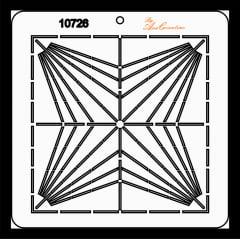 Estêncil de Quilting Diretrizes - 10726