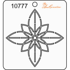 Estêncil de Quilting (Pequeno) - 10777