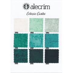 Kit Tecido Alecrim - Caribe