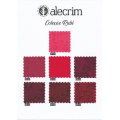 Kit Tecidos Alecrim (1mt) - Coleção Rubi
