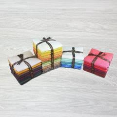 Kit Tecidos Alecrim - Quatro Coleções (Outonal/Caribe/Country/ Rubi)