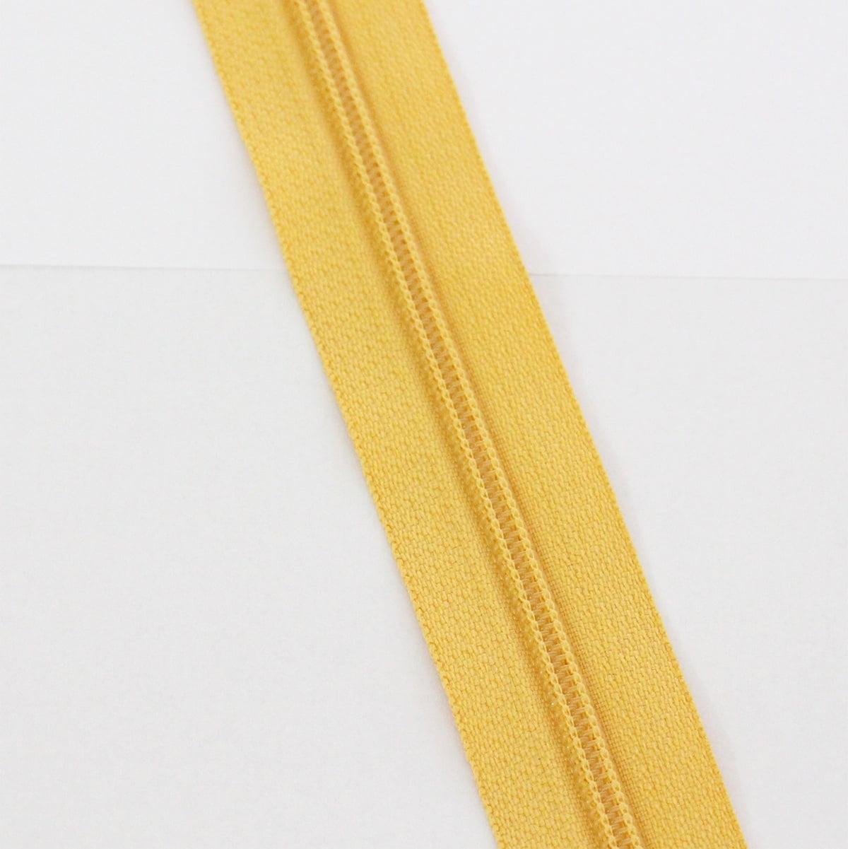Zíper Metro 4,5mm - Amarelo Escuro