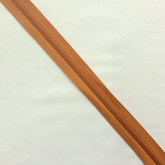 Zíper Metro 4,5mm - Cobre