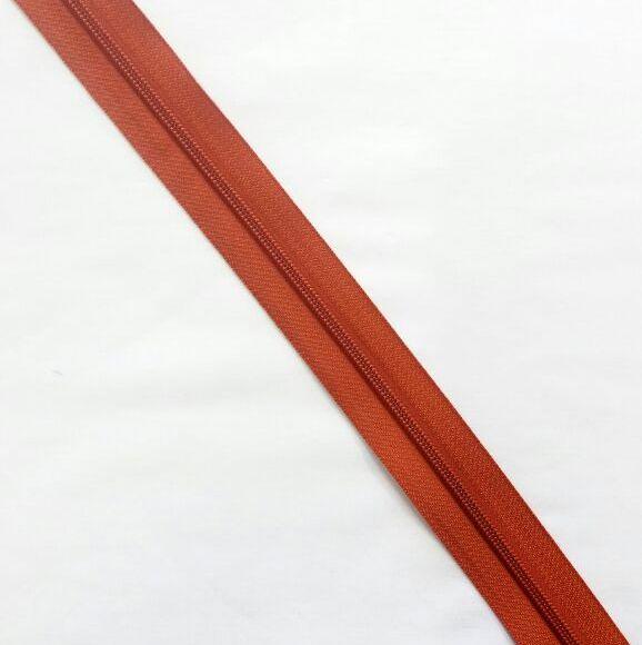 Zíper Metro 4,5mm - Ferrugem
