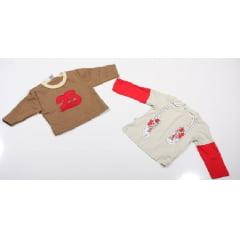 INFANTIL - BLUSAS DE INVERNO - MENINA E MENINO - 100 PEÇAS - 1º E 2º LINHA