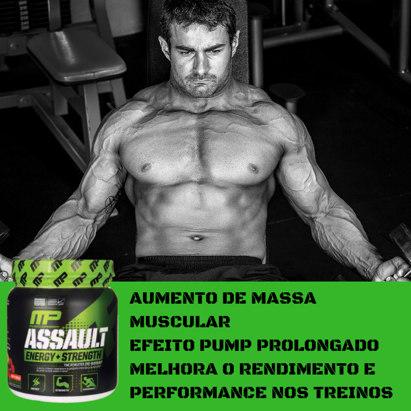 BENEFÍCIOS DO ASSAULT DA MUSCLEPHARM