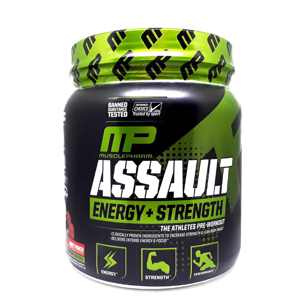 ASSAULT DA MUSCLEPHARM
