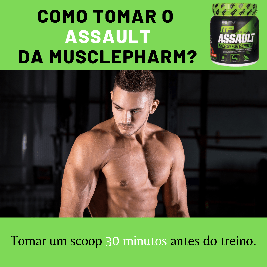 COMO TOMAR ASSAULT MUSCLEPHARM
