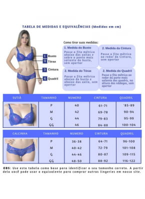 Sutiã com Pala Inteira Beautiful Lingerie