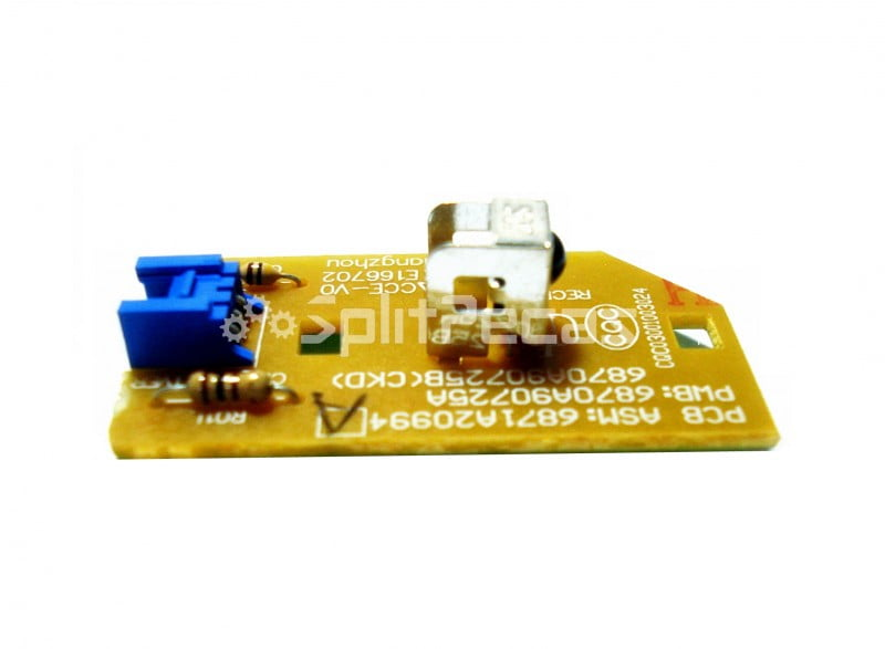 Placa receptora Ar Condicionado LG Art Cool 9/12/18/24 6871A20994A